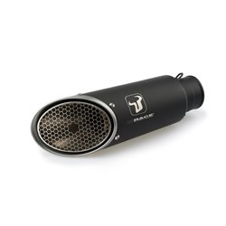 Compleet uitlaatsysteem Zwart | Yamaha MT-09