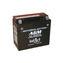Accu AGM YTX 20L-BS (met zuurpakket)