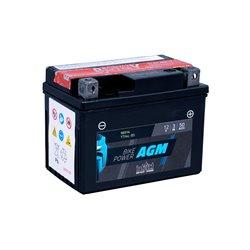 Accu AGM YTX 4L-BS (met zuurpakket)