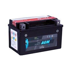 Accu AGM YTX 7A-BS (met zuurpakket)