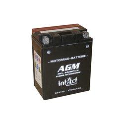 Accu AGM YTX14AH-BS (met zuurpakket)