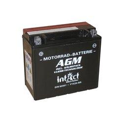 Accu AGM YTX20-BS (met zuurpakket)