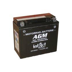 Accu AGM YTX20HL-BS (met zuurpakket)