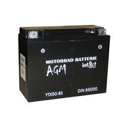Accu AGM YTX50-BS (met zuurpakket)