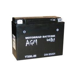Accu AGM YTX50L-BS (met zuurpakket)