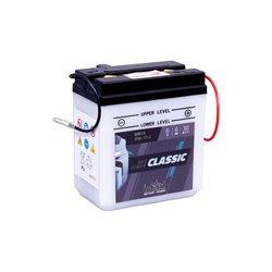 Accu Classic 6N6-1D-2 (met zuurpakket)